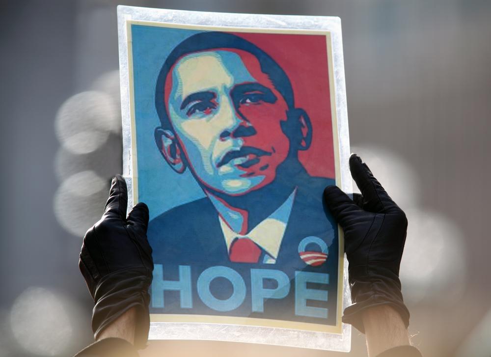 Obama 'Hope' campaign